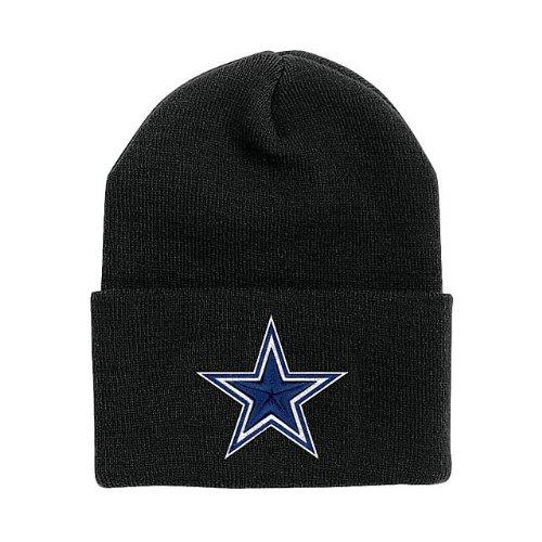 (Dallas Cowboys Basic Knit Hat Black )