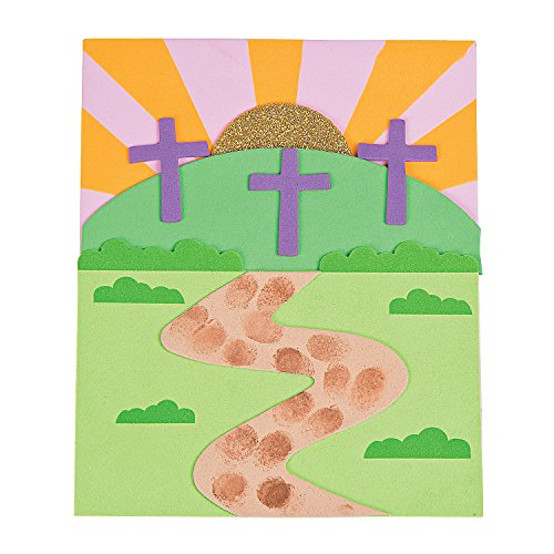Journey to the Cross Thumbprint Sign Craft