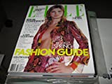 Elle Magazine (Spring Fashion Guide , Sexual Confidence , A few Good Men, March 2000)