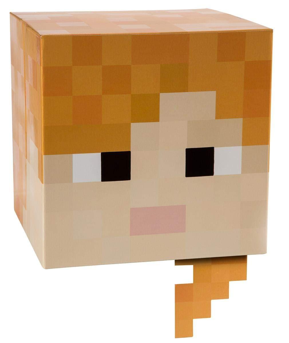 Minecraft 12' Alex Head Costume Mask