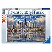 Amazon Lightning Deal 77% claimed: Ravensburger North American Skyline Puzzle (3000-Piece)