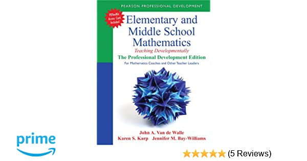 Elementary and middle school mathematics teaching developmentally elementary and middle school mathematics teaching developmentally the professional development edition for mathematics coaches and other teacher fandeluxe Image collections