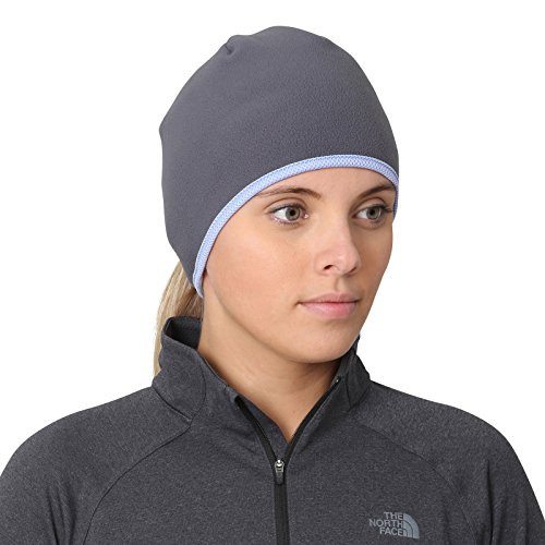 - TrailHeads Women's Running Ponytail Hat - Charcoal/True Blue