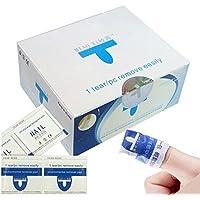 Zantec 200 unids / set Removedor de Uñas de Gel Esmalte Permanente Semipermanente Limpiador de Uñas Gel UV LED Manicura y Pedicura
