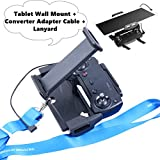 Aboom Remote Controller Extended Mount for DJI Mavic Air Spark, Foldable Phone Tablet Extended Mount + Neck Strap + Adapter Cable