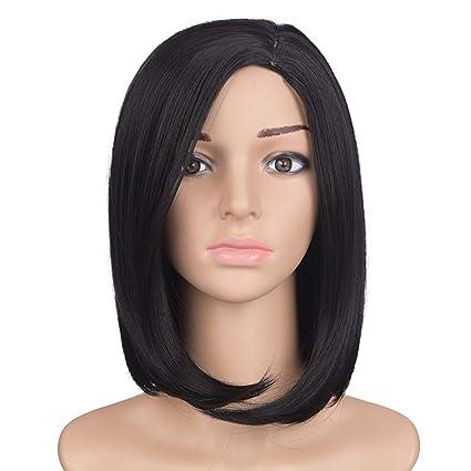 Xiaoqin Peluca Corta del Pelo de Cospaly del Color de la Peluca Corta del Color Negro