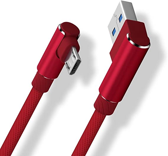 90 Degree USB Mini to USB A cable 1 meter
