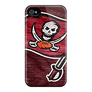Excellent Iphone 4/4s Case Tpu Cover Back Skin Protector Tampa Bay Buccaneers