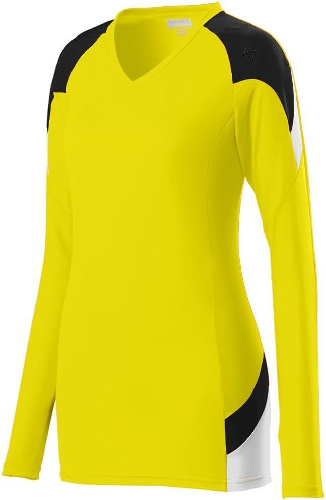 Augusta Sportswear Girls' Set Jersey S Power Yellow/Black/White