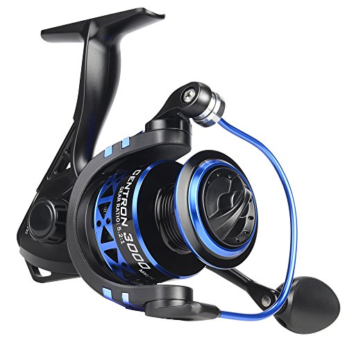 KastKing Centron Spinning Reels Spinning Fishing Reel 9 +1 BB Light Weight Ultra Smooth - Blue Reels