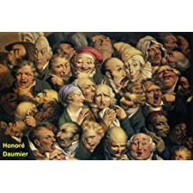 252 Color Paintings of Honoré Daumier - French Printmaker, Caricaturist, Painter and Sculptor (February 26, 1808 - February 10, 1879)