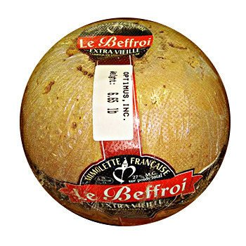 French Cheese Mimolette, Beffroi - 6-6.9 lbs. by Fromage Marquis (Image #1)
