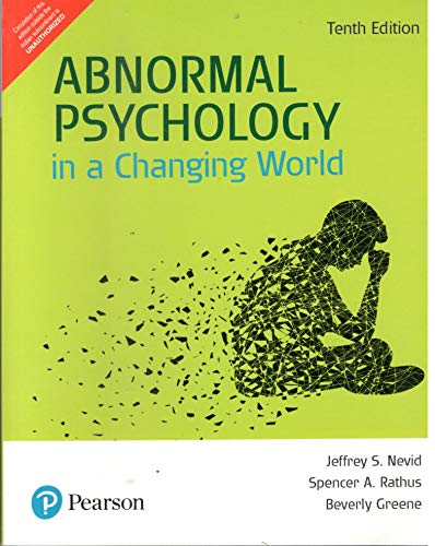 Abnormal Psychology in a Changing World,