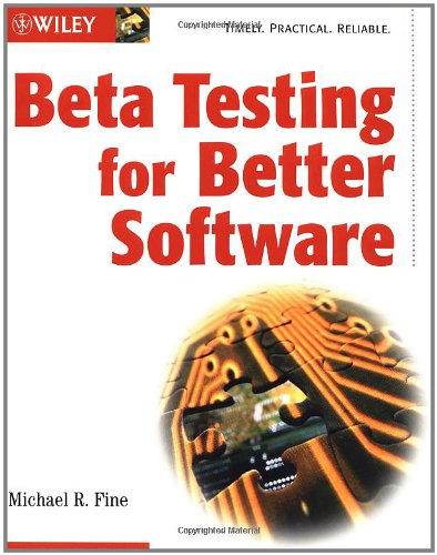 Beta Testing for Better Software-cover