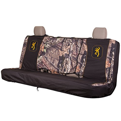 Browning Full Size Camo Bench Seat Cover (Mossy Oak Country Camo, Durable Polyester Fabric, Includes One Seat Cover, Sold Individually) (Blue And Camo Seat Covers compare prices)