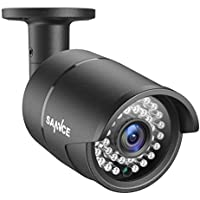 SANNCE AHD1080P 2.0MP Outdoor Bullet Security Camera for DVR Surveillance Video Recorder with 3.6mm Lens and 100ft Night Vision, IP66 Weatherproof,IR Cut