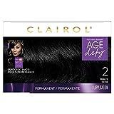 Clairol Age Defy Permanent Hair Color, 2 Black, 1