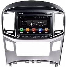 "Glyqxa 1024600 4GB RAM Octa Core 8"" Android 8.0 Car Radio Car dvd Player for Hyundai H1 2016 With Radio GPS Bluetooth WIFI USB DVR"