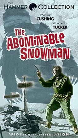 Abominable Snowman VHS