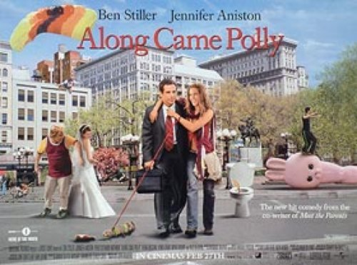 Along Came Polly International 30X40 New UK Quad Ben Stiller Jennifer Aniston Alec Baldwin Poster by Silverscreen