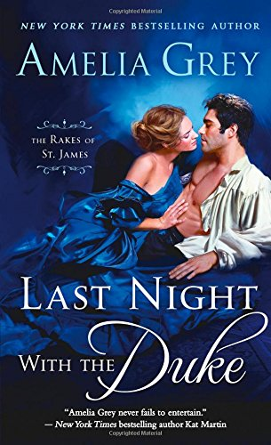 book cover of Last Night with the Duke