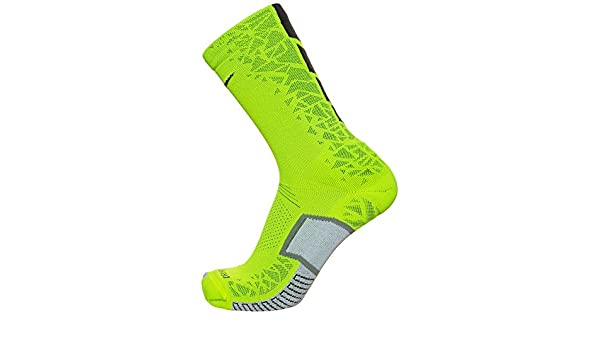 Nike U NK ELT Hypvnm Crew Calcetines, Hombre, Verde (Volt Black), S: Amazon.es: Deportes y aire libre