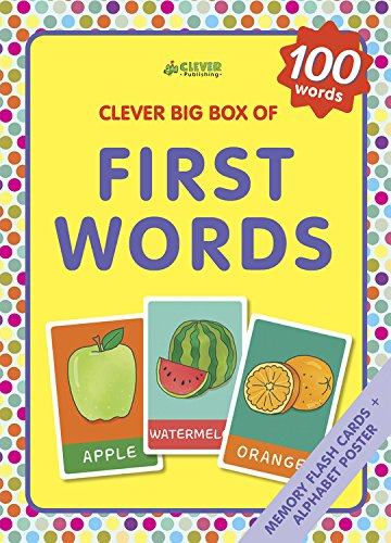 Cards Flash Alphabet Animals - First Words: Memory flash cards (Clever Big Box Of)