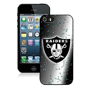 Oakland Raiders(2) Black iPhone 5s Phone Case Genuine Custom Cover