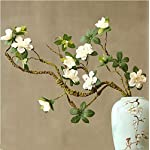 Fake-Flower-Artificial-Rhododendron-Fake-Flower-Dried-Flower-Branch-Shape-Home-Decoration-Chinese-Zen-Ceramic-vase-Display-Floral