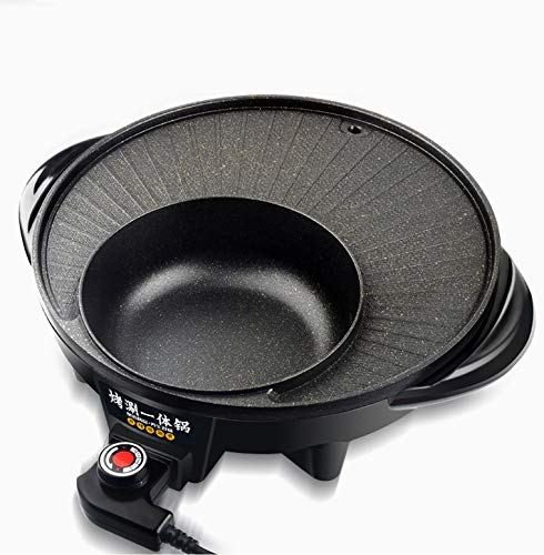 Maifan Stone Korean Hotpot with Grill by BXB | Multi-Function Non-Stick Bottom Electric Cooker | Shabu Shabu and Grill Multi-Cooker by SHOPBXB (Image #2)