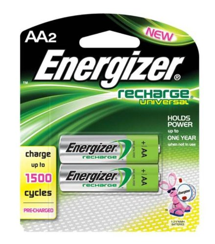 Energizer Universal Recharge Batteries UNH15BP