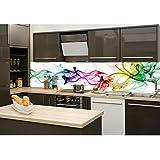 Küchenrückwand, Spritzschutz bedruckt, 3mm Alu Dibond Verbundplatte ...