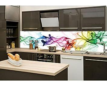 Küchenrückwand Folie selbstklebend RAUCH 260 x 60 cm | Klebefolie ...