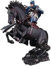 The Dark Knight Returns: A Call to Arms Mini Battle Statue, Multicolor, 8 inches