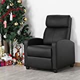 YAHEETECH Recliner Chair PU Leather Recliner Sofa