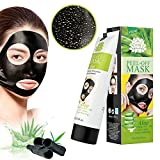 MEINAIER Blackhead Remover Mask Charcoal 8.9 oz,Blackhead Peel Off Mask,Purifying Peel-off Mask Black Mud Pore Removal Strip Mask For Face Nose Acne Treatment
