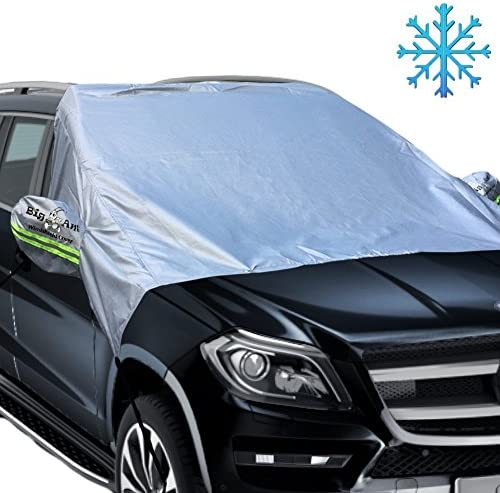 74 x 57 Basics Foldable Front Windshield Snow and Ice Cover