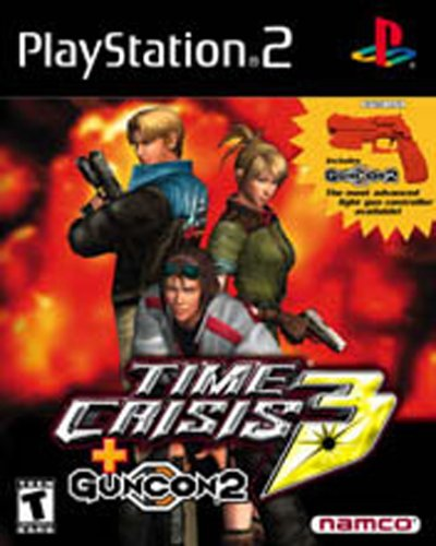 Ps2 Light Guns (NAMCO Time Crisis 3 with Guncon 2 Light Gun)