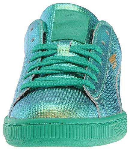 Puma - PUMA Damen Korb Holographic Fashion Sneaker Green Flash