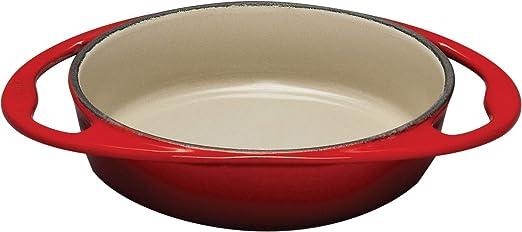 Amazon.com: Le Creuset – 9 – 3/4-Inch redondo de hierro ...