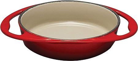Le Creuset - Plato para hornear Tartin de hierro fundido, redondo ...