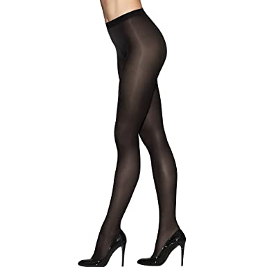 875eb8e290fdb Hanes Women s Silk Reflections Tight with Invisible Top Panty at Amazon  Women s Clothing store