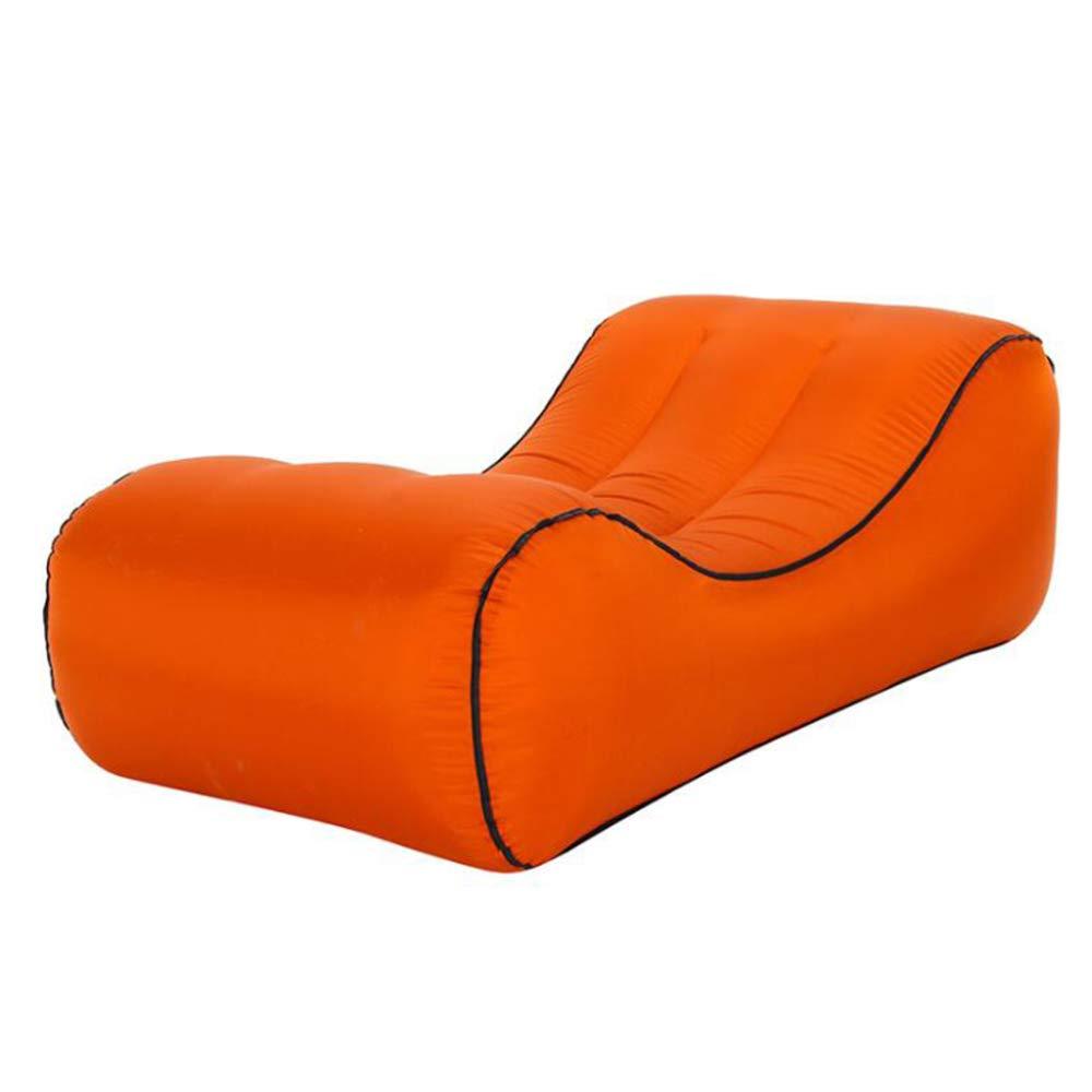 Orange 1457040cm ZHKGANG Lit Gonflable Lit Paresseux en Plein Air Lit Gonflable Multi-Fonction portable Lit d'air Convenable pour Toutes Sortes D'occasions Unisexe,Skybleu-190  85  45cm