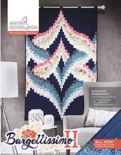 Anita Goodesign Embroidery Machine Designs CD Bargellissimo 2 II Premium Collection