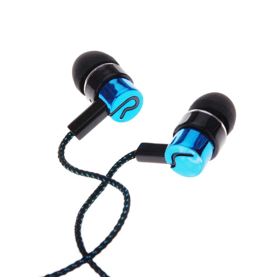 Fanala Wired Noise Isolating Stereo in-Ear Earphone with 3.5mm Jack Stan Corded Headsets