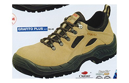 Panter 436411400 - GRAFITO PLUS S1P BEIGE Talla: 43