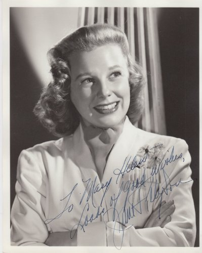 June Allyson (Vintage, Inscribed) Signed 8X10 Photo by Authentic Autographs