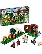 LEGO Minecraft Kryjówka rozbójników 21159 — świetny zestaw z figurkami do zbudowania dla dzieci. Prezent dla fanów Minecrafta (303 elementy).