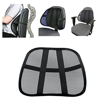 Cool Vent Mesh Back Support Lumbar Support Chair Seat Cushion for Office Chair Car Seat and Other Amazon.co.uk Kitchen u0026 Home  sc 1 st  Amazon.co.uk & Cool Vent Mesh Back Support Lumbar Support Chair Seat Cushion for ...