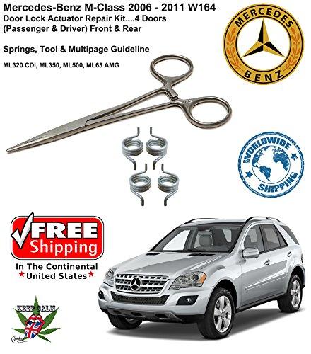 06 11 Mercedes Benz M Class Ml Door Lock Buy Online In Gibraltar At Desertcart